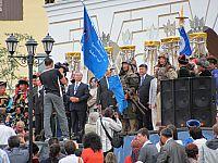 Встреча конного перехода конвента монголов мира