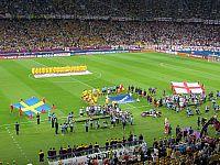 Евро 2012. Матч Англия - Швеция