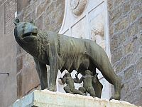 Рим. Капитолийская волчица