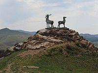 На оленях у Вознесеновки