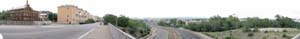 Панорама Улан-Удэ. Мост на проспекте Победы