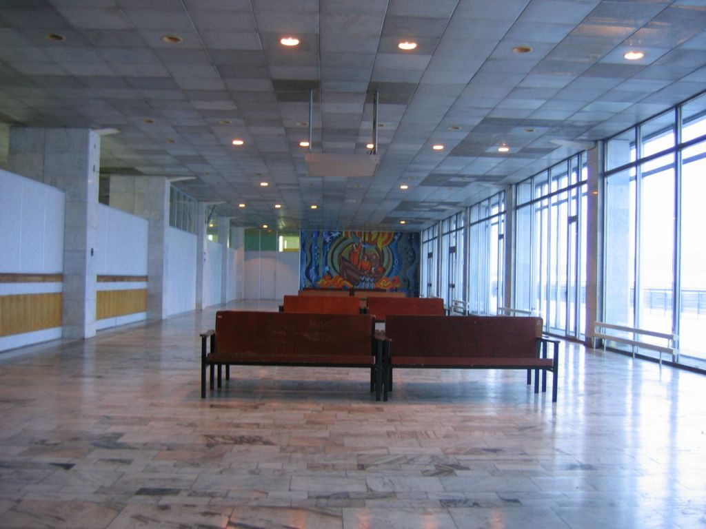 Аэропорт внутри 2005 год