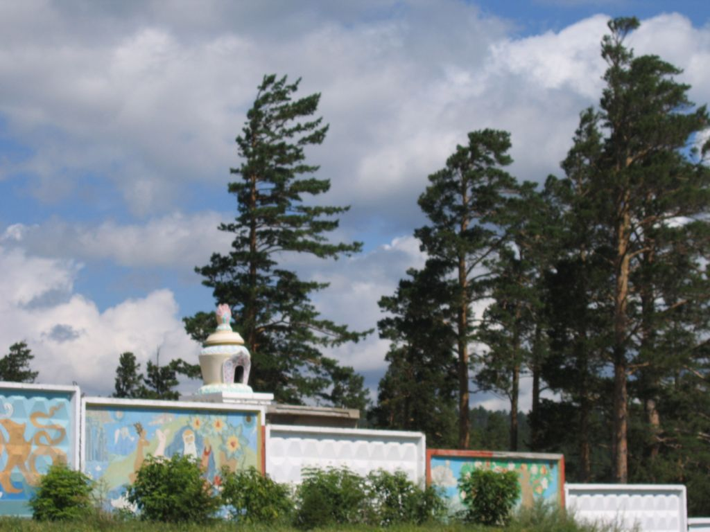 Забор на Лысой горе