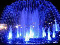 Фотографии Улан-Удэ. Цветные фонтаны