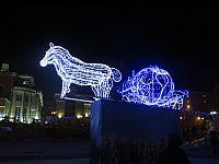 Улан-Удэ. Новый год 2014-2015